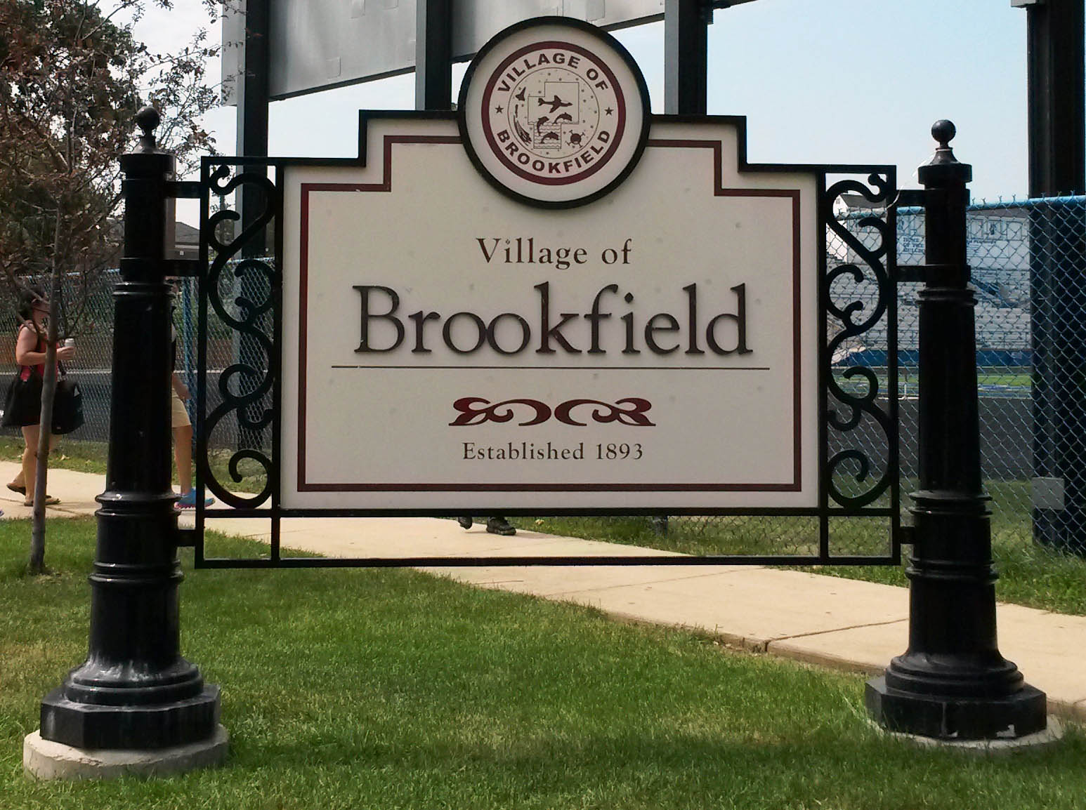 Brookfield-IL-real estate sign with nancy miller