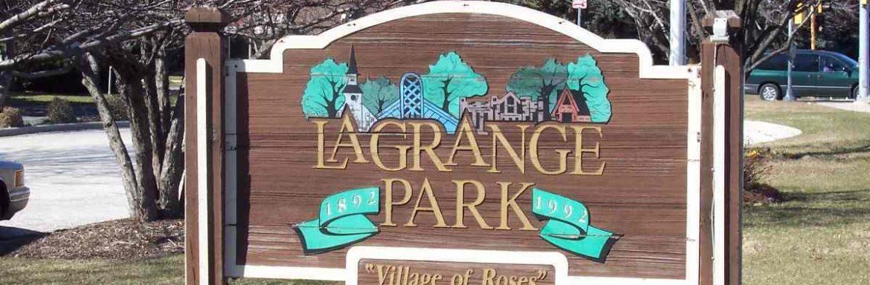 La Grange Park il sign with nancy miller realtor