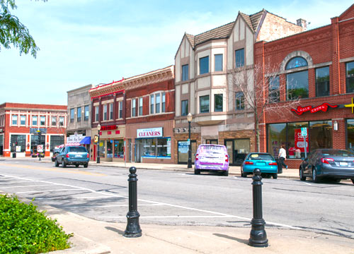 la grange il downtown with nancy miller realtor