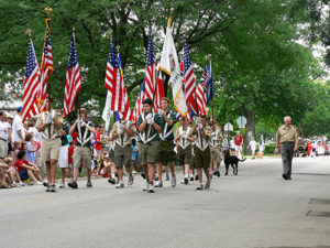 La-Grange-Park-IL-Boy-Scouts-March-for-Veterans