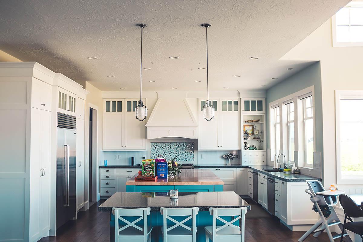 clean organized kitchen